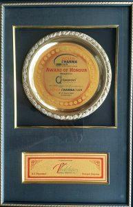 Indian Pharma Fair- Award of Honour