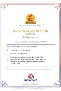 Certificate of Trust- India Mart